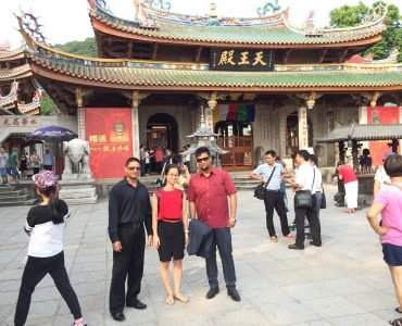 english tour guide in china