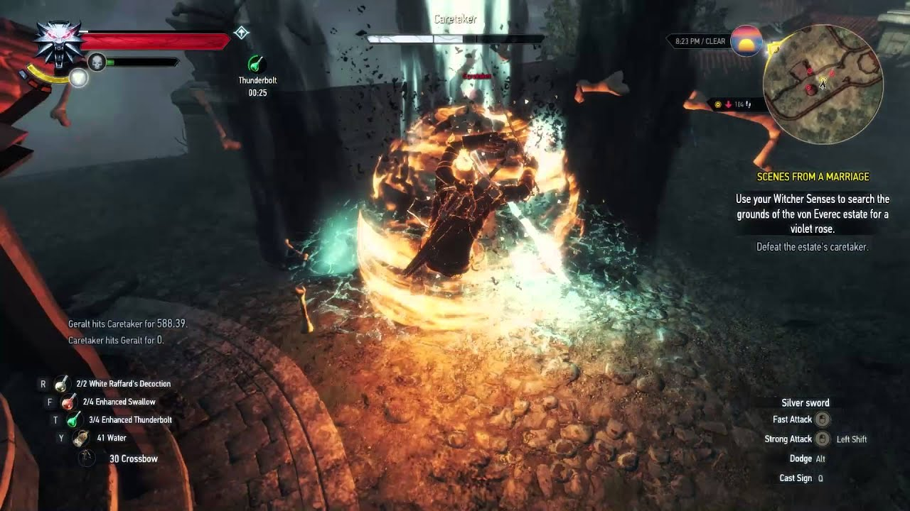 the caretaker witcher 3 guide