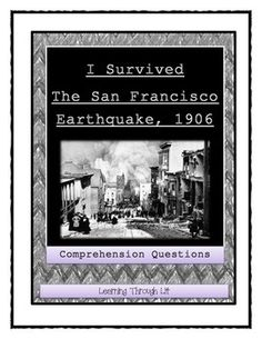 i survived the san francisco earthquake 1906 guided reading level