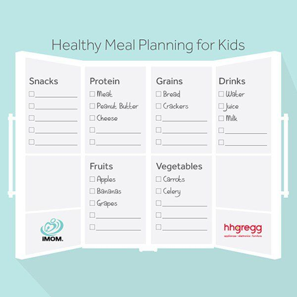 idits guide to kids meals
