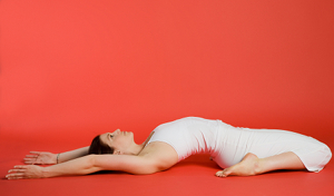 reclined side pose skinny guide